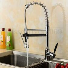 Faucet 360° Single Handle Rotary Bathroom Kitchen Sink Basin Waterfall Mixer tap