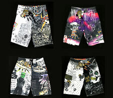 Minute Mirth Shorts Street Skull Trunks Beach Swim Casual Quick Dry Men Swag