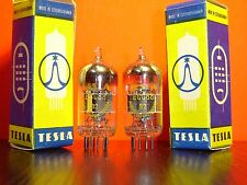 2x ECC88 6DJ8 TESLA RÖHREN NEU OVP VACUUM TUBE NEW OLD STOCK IN BOX