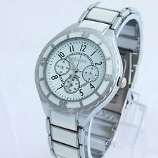 New Fashion Men Alloy Band Stainless Steel Back Luxury Dress Wristwatch SN67