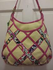 NWT VERA BRADLEY Straw VIVA LA VERA Retired PURSE Handbag HOBO Bag Lim Ed. NEW