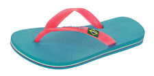 Kids Ipanema Flip Flops Rio II Children's Beach Sandals Blue Pink World Shipping