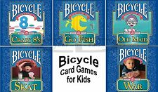 Bicycle Brand Kids Card Games PC Windows XP Vista 7 8 10 Sealed New