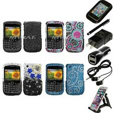 For BlackBerry Curve 8530 / 8520 Diamond Diamante Rhinestone Case Accessories