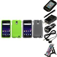For Samsung Skyrocket i727 Rigid Plastic Hard Snap-On Case Cover Accessories