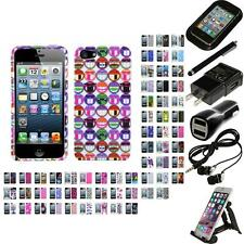 For Apple iPhone 5/5S/SE Design Snap-On Hard Case Phone Cover Accessories
