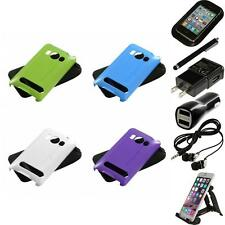 For HTC Evo 4G Hybrid Rugged Impact Hard Soft Case Phone Cover Accessories
