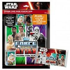 TOPPS STAR WARS FORCE  ATTAX : THE FORCE AWAKENS FOIL CARDS...CHOOSE 161 TO 224