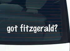 got fitzgerald? FAMILY TREE REUNION LAST NAME SURNAME DECAL STICKER CAR WALL