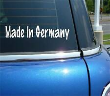 MADE IN GERMANY DEUTSCHLAND FUNNY DECAL STICKER ART CAR WALL DECOR