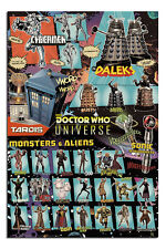 Doctor Who Characters Poster New - Maxi Size 36 x 24 Inch
