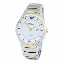 Citizen ECO-DRIVE Mens Analog Watch Casual Silver BM6958-58A