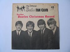 Beatles - Another Beatles Christmas Record. Fan Club only issue. 1964