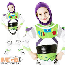 Deluxe Buzz Lightyear Boy's  Fancy Dress Up Disney's Toy Story Costume Outfit
