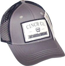 Cinch Co. Classic Denim Snapback Ball Cap Hat