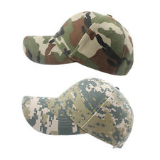 New Adjustable Military Hunting Fishing Hat Army Baseball Outdoor Cap HT