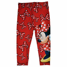 Disney Minnie Mouse Bows Toddler Girls Leggings - Red