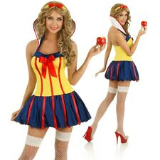 Sexy Short Womens Snow White Fairy Tale Costume