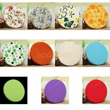 Soft ROUND Circular Chair Cushion SEAT PAD Kitchen Dining REMOVABLE cover PICK
