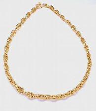 GAT ROSE GOLD ANCHOR CHAIN NECKLACE 14K AND 18K JEWELRY