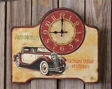 New Vintage car design large wall clock / nice