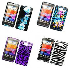 For Motorola Droid Razr HD XT926 Design Hard Snap-On Phone Case Cover Skin