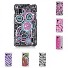 For LG Optimus G LS970 Case Diamond Bling Luxury Fashion Cute Hard Cover