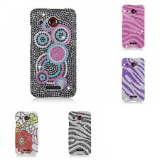 For HTC Droid DNA Case Diamond Bling Luxury Fashion Cute Hard Cover