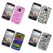 For Pantech Perception Hard Phone Case Design Rubberized Snap-On Cover