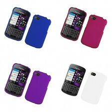For BlackBerry Q10 Hard Snap-On Rubberized Phone Skin Case Cover