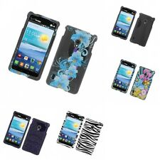 For LG Lucid 2 VS870 Design Hard Snap-On Phone Case Cover Skin