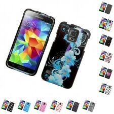 For Samsung Galaxy S5 Design Hard Snap-On Phone Case Cover Skin