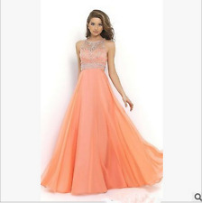 Long Women's Chiffon Evening Party Formal Bridesmaid Prom Ball Gowns Dress