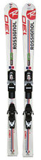 Rossignol Edge Pro J Youth Skis 130cm with Adjustable Mount Bindings - USED