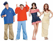 Adult TV Show Gilligan's Island Boat Gilligan Skipper MaryAnn / Ginger Costume