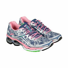 Mizuno Wave Creation 15 Womens Grey Synthetic Athletic Lace Up Running Shoes