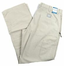 Men's Columbia ROC Pants Relaxed Full Chino Omni-Shade Sand NWT