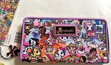 NWT TOKIDOKI ROMA Long Zipper Close Wallet PICK YOUR PRINT Cards Cash Coins Fun