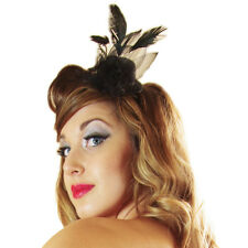 Mini Top Hat Accessory for Saloon Girl Burlesque Moulin Rouge Fancy Dress