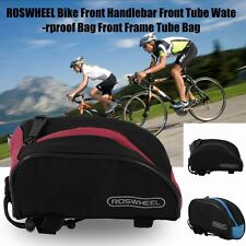 Roswheel Outdoor Bicycle Cycling Frame Front Tube Bag Mountain Bike Bags Pouch B