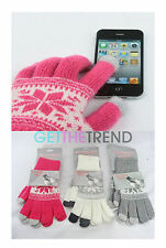 TOUCH SCREEN Winter Magic Mens Gloves Smart Phone Texting magic Stretch gloves