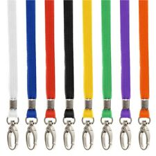 20x Premium BREAKAWAY Safety Lanyards and Swivel Metal Clip for ID Card Holder