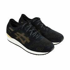 Asics Gel Lyte III LC Mens Black Suede Athletic Lace Up Athletic Shoes