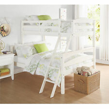 Dorel Living Brady Wood Twin-over-Full Bunk Bed