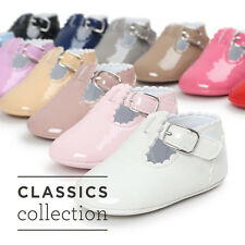 Newborn Girl Boys Baby Sole Crib Shoes Toddler Sneakers Leather Shoes 0-18M