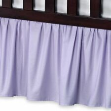 1 Qty Bed Skirt Ruffle/Gathering Egyp.Cotton Drop 8-30 Inch Lavender Solid