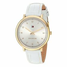 Tommy Hilfiger  Ladies Analog Watch Casual White 1781763 1781765