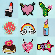 DIY Cartoon Mofit Embroidery Sewing Iron On Patch Badge Bag Dress Applique Craft
