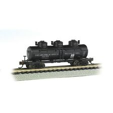 Bachmann 17151 N-Scale 3-Dome Tank Car, Philadelphia Quartz Co. #606