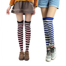 Girl Over The Knee Socks Ladies Thigh High Stockings Hosiery Leg Warmer One Size